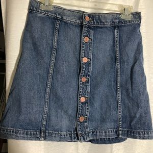 Jean skirt express one eleven